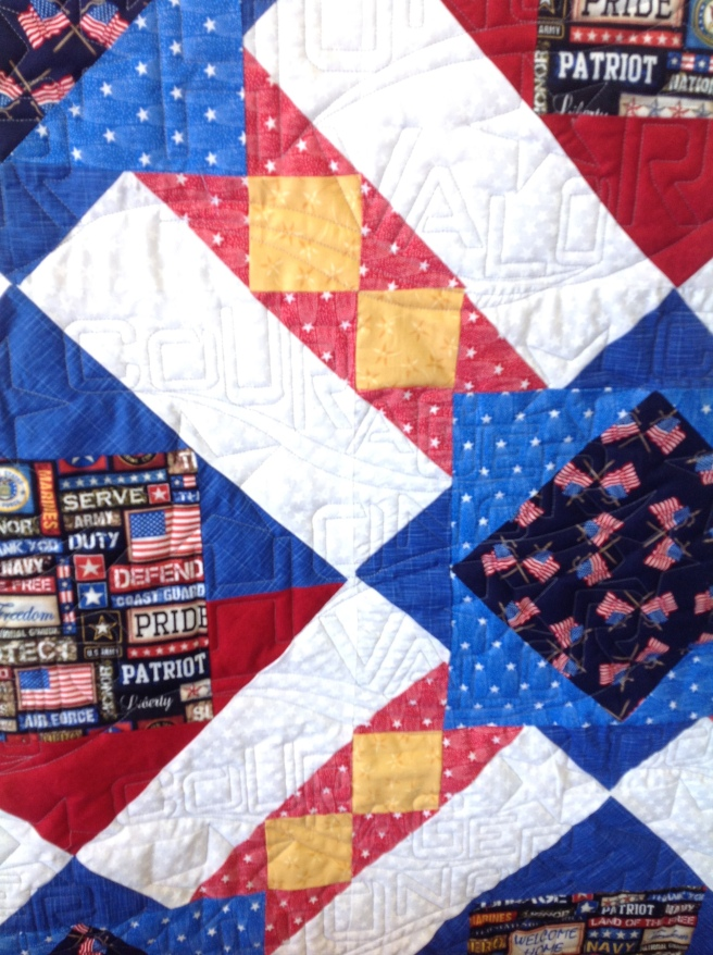Anne's Charity Quilt Closeup
