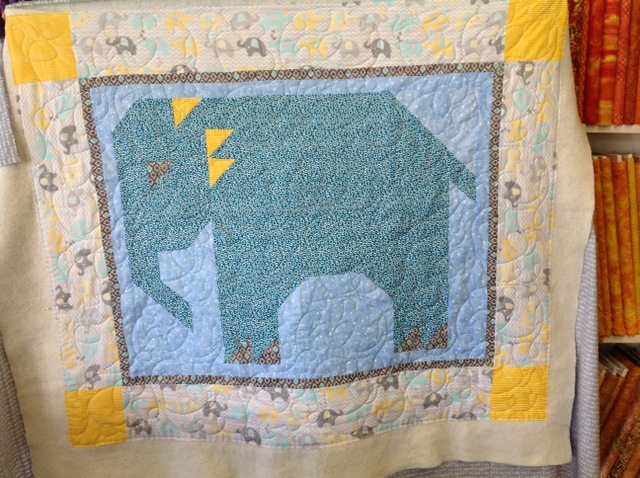 Samantha's Elephant Quilt