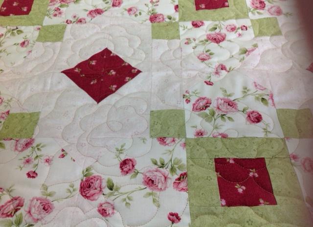 Sandy's Rose Quilt