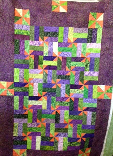 Joe's Pinwheel Quilt