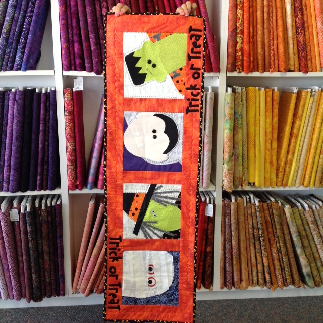 Mary Ann's Halloween Table Runner