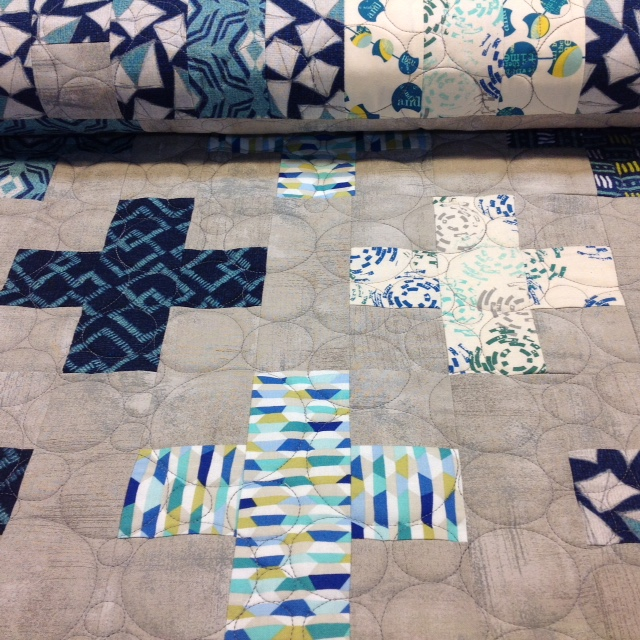 Sandy's Cross Quilt