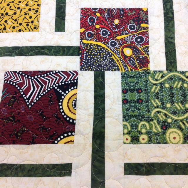 Elin's Aboriginal Quilt
