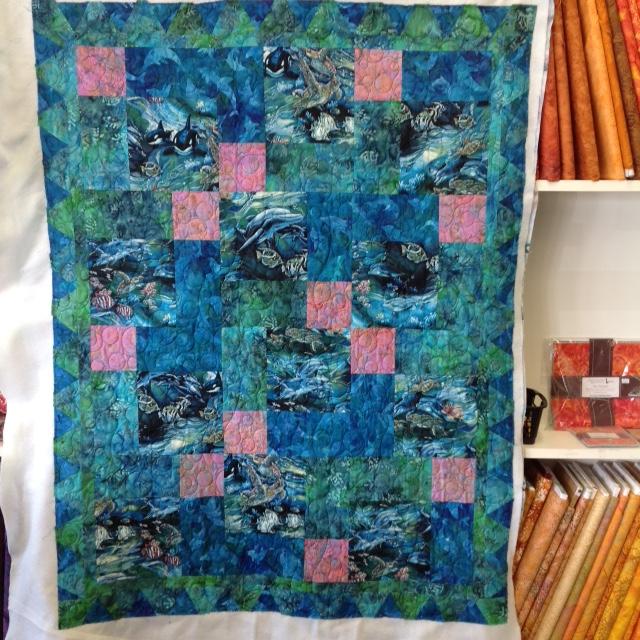 Anne M.'s Sealife Quilt