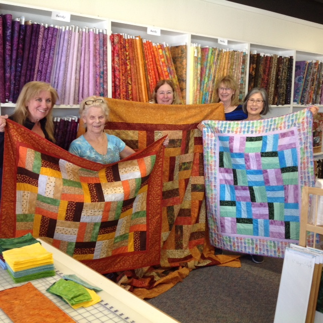 Connie's Beginning Quilting Class