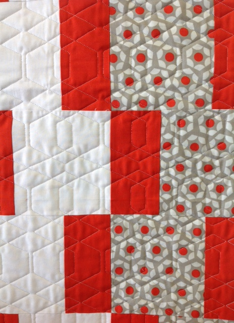 Close-up of Nancy's Quilt